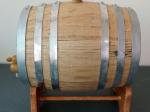 Three litre steel hoop barrel